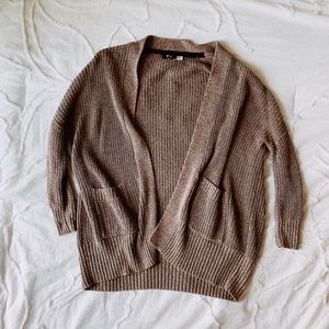 Urban Outfiters light brown cardigan